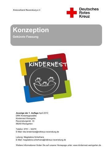 Konzeption Kindernest (PDF) - Kindertageseinrichtungen