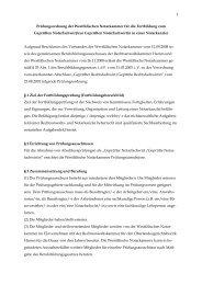 Prüfungsordnung Notarfachwirte - Notarkammer