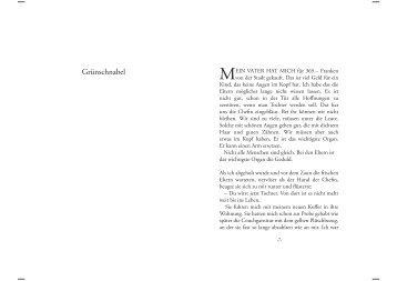Leseprobe als pdf - Monica Cantieni