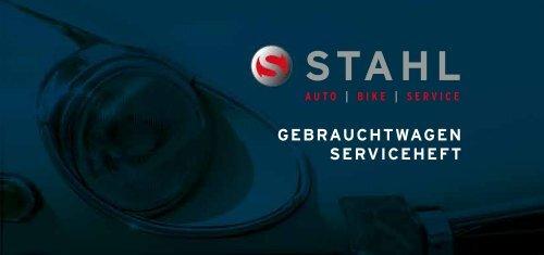 GEBRAUCHTWAGEN SERVICEHEFT - Auto Stahl