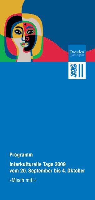 Programm Interkulturelle Tage 2009 vom 20. September ... - Afropa eV