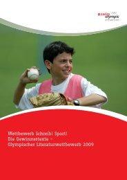 Wettbewerb Schreib! Sport! Die Gewinnertexte ... - Swiss Olympic