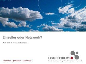 Einzeller oder Netzwerk?