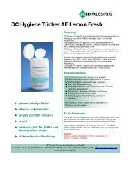 DC Hygiene Tücher AF Lemon Fresh - Dental Central