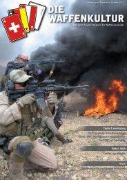 Die Waffenkultur - Pilotausgabe September - Oktober 2011
