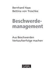 Leseprobe zum Titel: Beschwerdemanagement - Die Onleihe