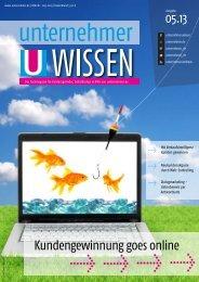 Kundengewinnung goes online - Unternehmer.de