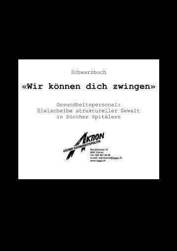 Schwarzbuch - Über die AGGP
