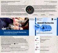Programm des Jahrestreffens 2007 (2 S., 199 KB) [PDF] - Netzwerk ...