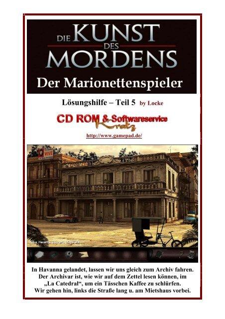 Der Marionettenspieler - Deutsche Lösung - Teil 5 bis ... - Gamepad.de