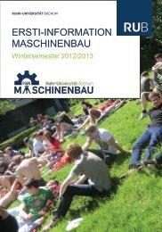 ERSTI-INFORMATION MASCHINENBAU - Fakultät für ...