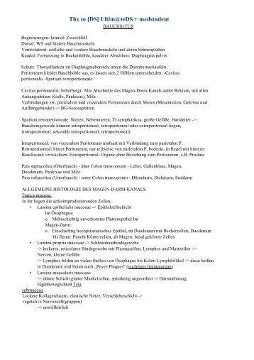 Thx to [DS] Ultim@teDS + medstudent - Leipzig-Medizin.de