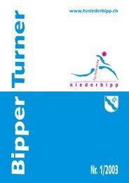 Ganzer Bipper Turner 1/2003 - Turnvereine Niederbipp - Turnverein ...
