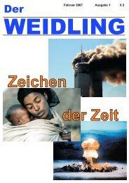 Der Weidling 1/2007 - Pfarre Windischgarsten
