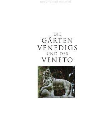 GÄRTEN VENEDIGS VENETO - Random House