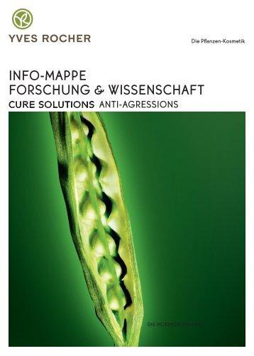 """Info-Mappe """"Forschung und Wissenschaft"""" - Yves-rocher.com"""