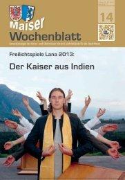 MWB-2013-14 - Maiser Wochenblatt