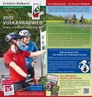 Flyer Vulkanradweg 2013 - Vulkanradweg im Vogelsberg