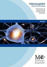 Polyneuropathie - Selbsthilfegruppen Plasmozytom / Multiples Myelom
