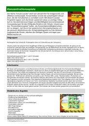Konzentrationsspiele (481 kB, PDF) - schule.sg.ch