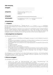 Makleralleinauftrag Verkauf (.pdf) - Odenthal Immobilien
