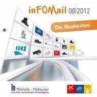 inFOMail 08|2012 - Fritz Oskar Michallik GmbH & Co.
