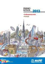 PRODUKT- KATALOG 2013 - Mapei