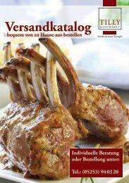 PDF - Katalog - Tilly Gourmet