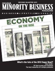 2nd Quarter - Economy on the Rise - Indiana Minority Business ...