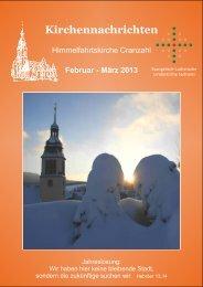 KINA 02+03.2013.pdf - Ev.-luth. Kirchgemeinde Cranzahl