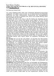 Reisebericht der Lassan-Fahrt 2010 - Ostsee-Club eV
