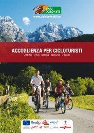 accOGlieNZa Per ciclOtUristi - Ciclo Dolomiti
