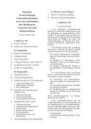 Studienplan - Fachbereich Mathematik - Universität Hamburg