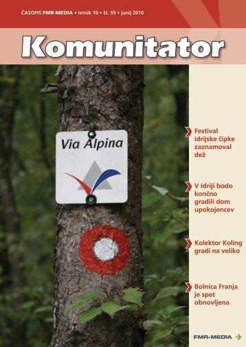 Komunitator številka 55, junij 2010 - FMR