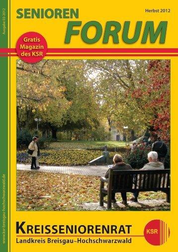 Herbst-Ausgabe als PDF-download - Kreisseniorenrat - Landkreis ...