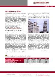 Marktanalyse Italien - Research-Fellows