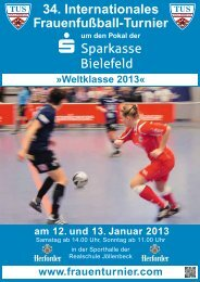 34. Internationales Frauenfußball-Turnier - Weltklasse 2013
