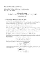 Friedrich-Schiller-Universität Jena - WiWi Fakultät - Friedrich ...