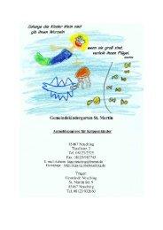 komplette Anmeldung für die Krippe - Kindergarten St. Martin ...