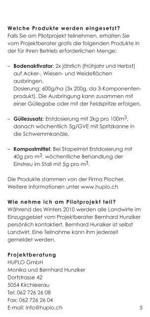 Pilotprojekt Bellacher-Weiher