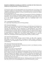 Protokoll Mitgliederversammlung 2011-02-09 - AEGEE-Konstanz