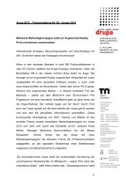 drupa 2012 – Pressemeldung Nr. 20 / Januar ... - Messe Düsseldorf