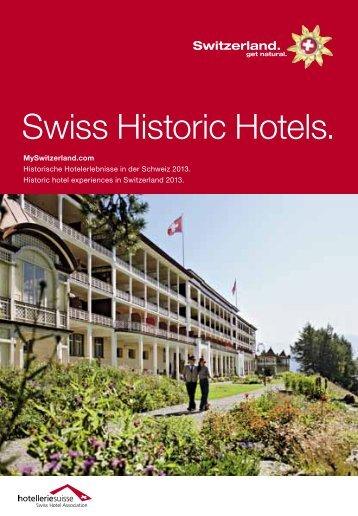 e - Swiss Historic Hotels