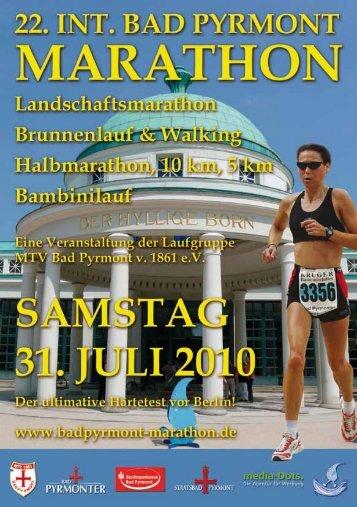 Elke Christina Roeder, Bürgermeisterin - Int. Bad Pyrmont Marathon