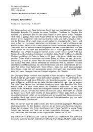 Text downloaden - Katholische Kirchengemeinde St. Joseph und ...
