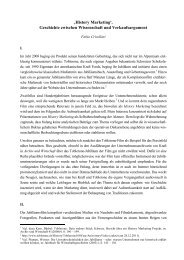 'History Marketing'. Geschichte zwischen Wissenschaft und ...