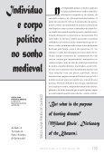 """Indivíduo e Corpo Político no Sonho Medieval"". - USP - Page 2"