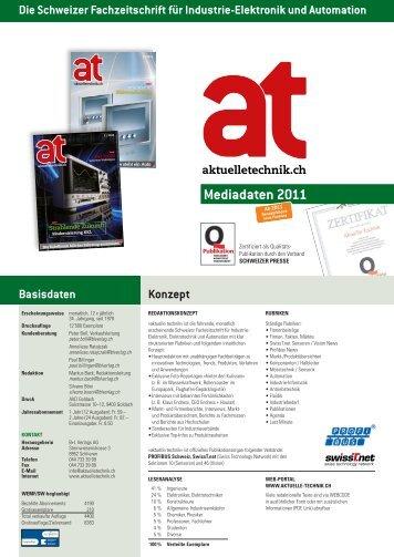 Mediadaten 2011 - La revue pour la construction et l'habitation