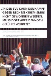 Verein für Demokratische Kultur in Berlin e.V. (VDK) Projekt ...