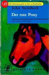 John Steinbeck Der rote Pony